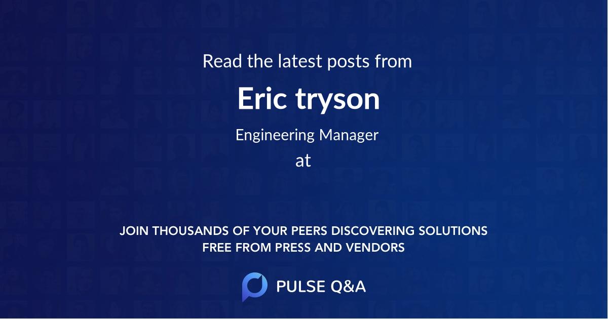 Eric tryson