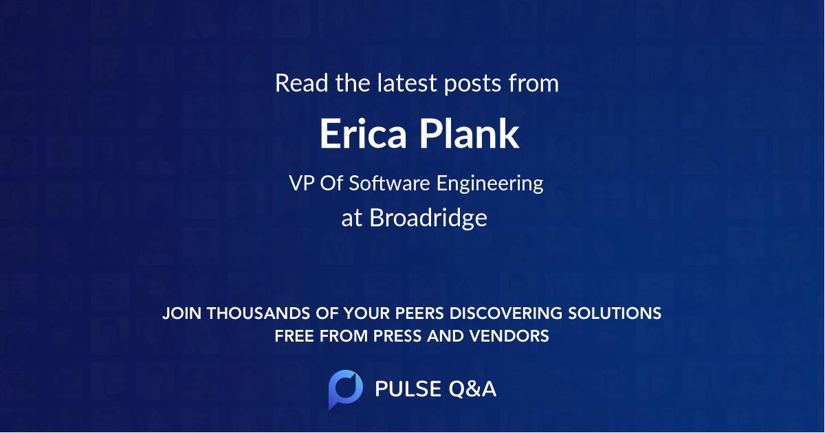 Erica Plank