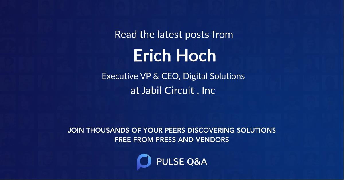 Erich Hoch