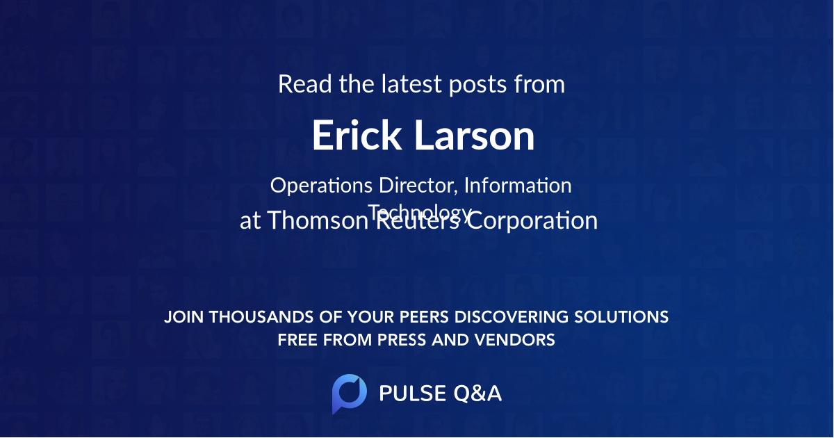 Erick Larson