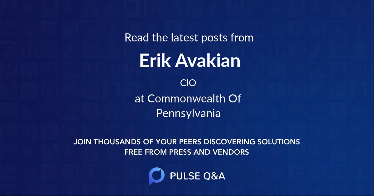 Erik Avakian