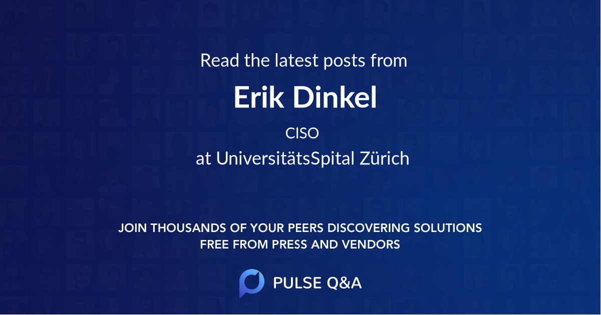Erik Dinkel