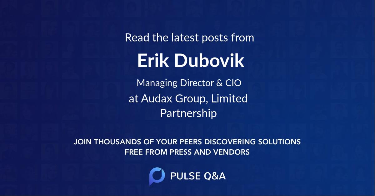 Erik Dubovik