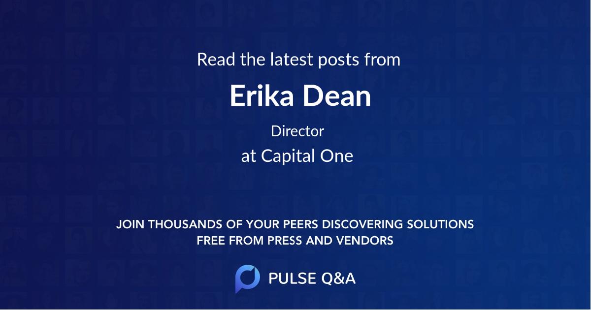 Erika Dean