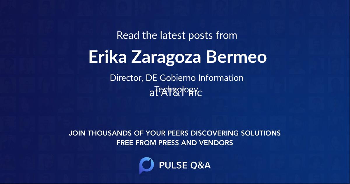 Erika Zaragoza Bermeo