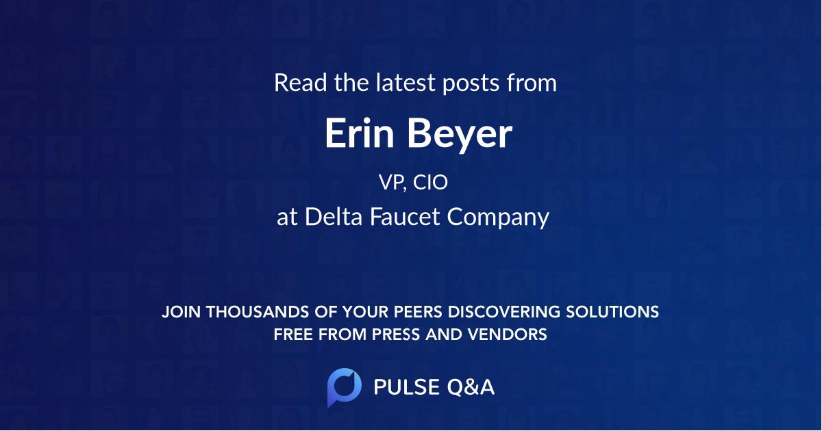 Erin Beyer