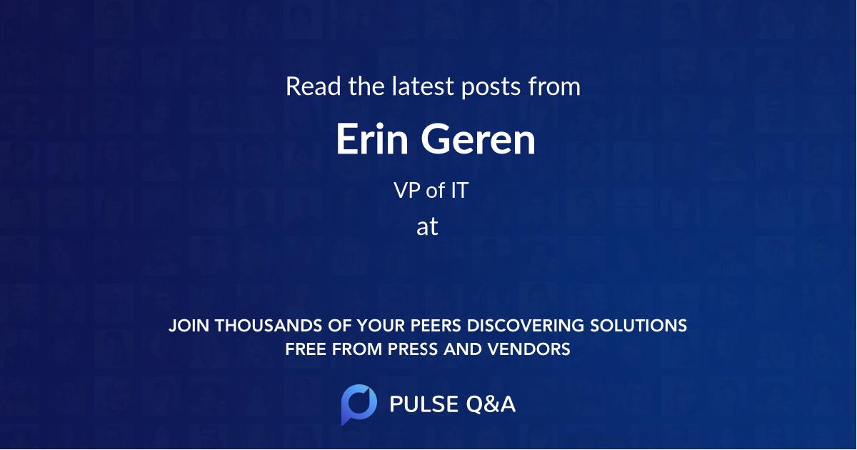 Erin Geren