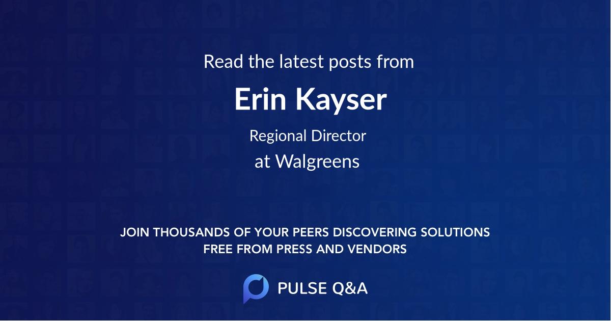 Erin Kayser