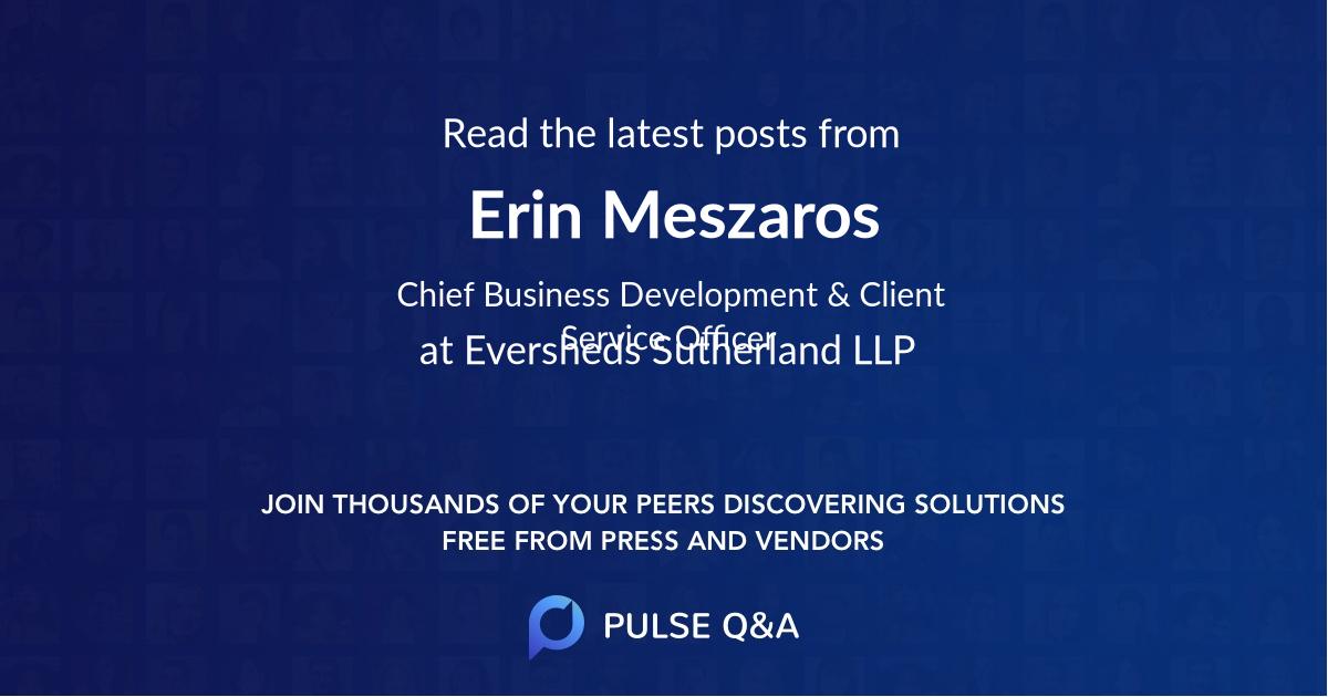 Erin Meszaros