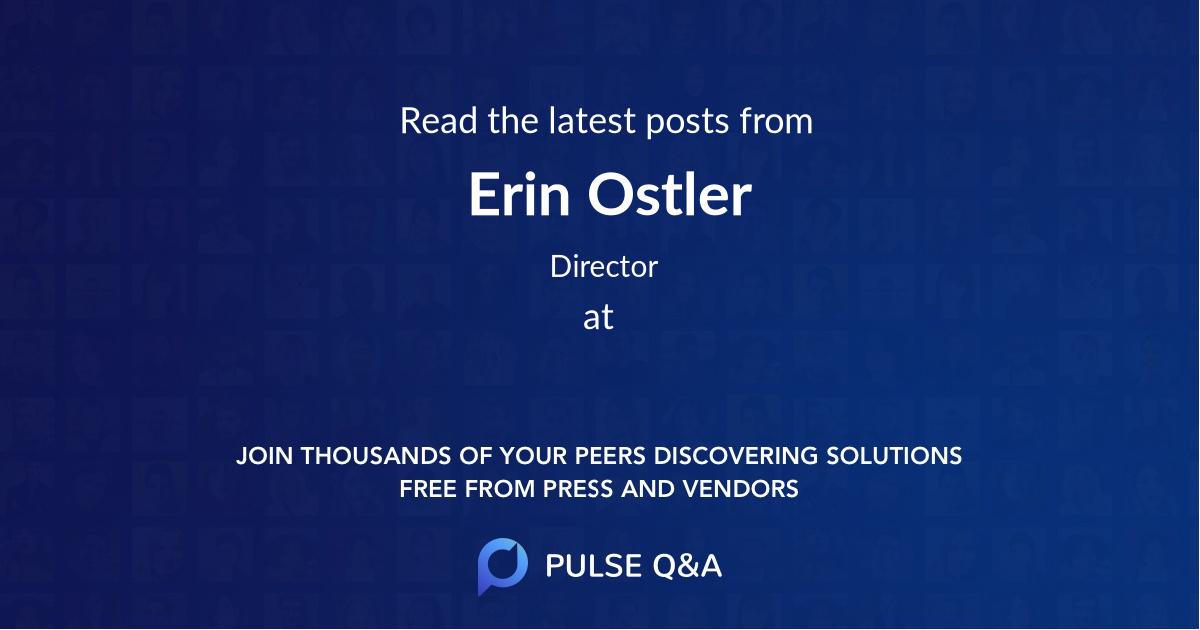 Erin Ostler