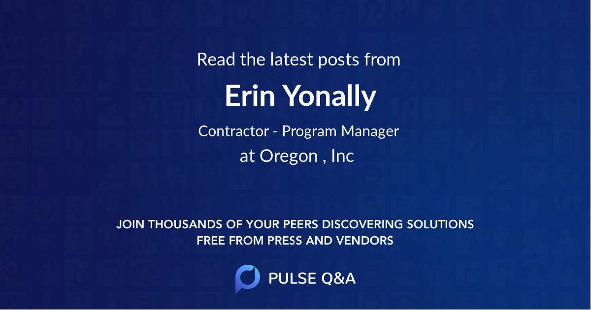 Erin Yonally