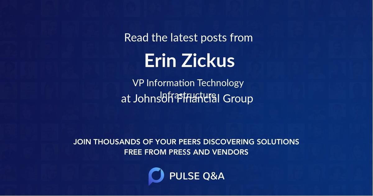 Erin Zickus