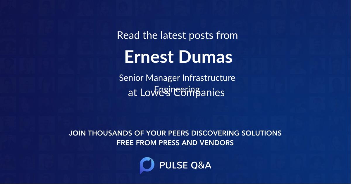 Ernest Dumas