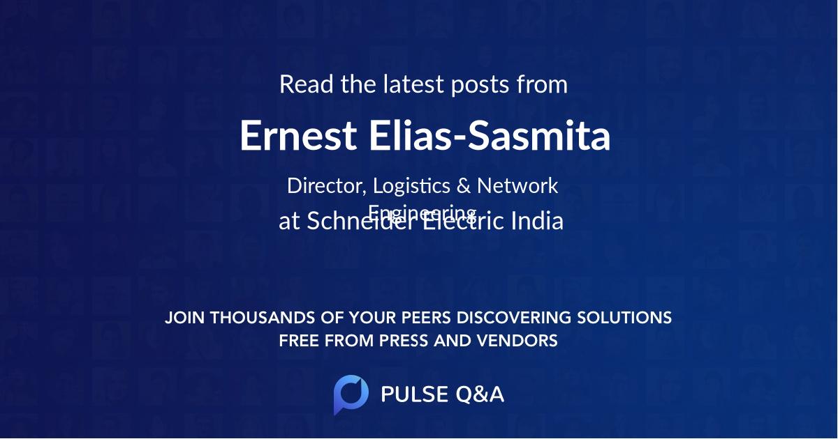 Ernest Elias-Sasmita