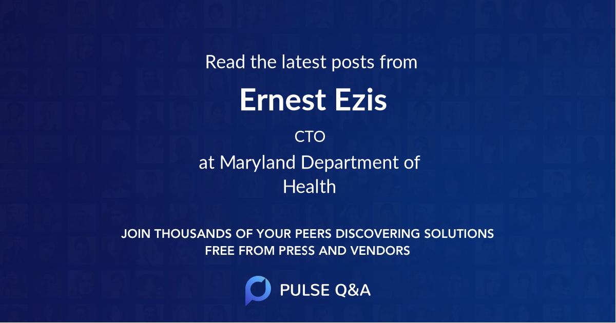 Ernest Ezis