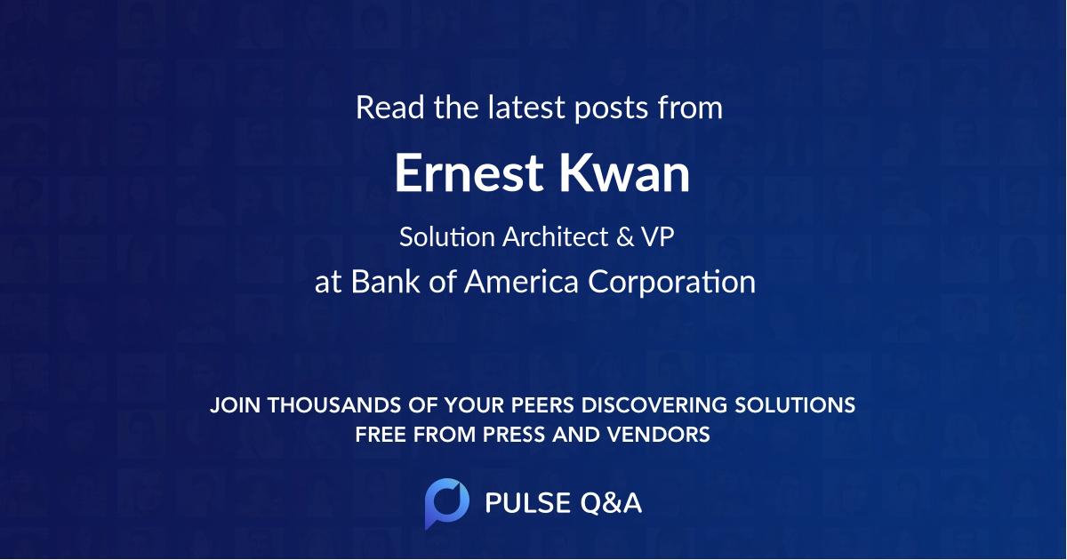 Ernest Kwan