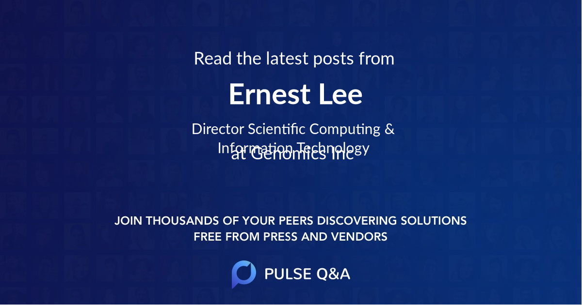 Ernest Lee