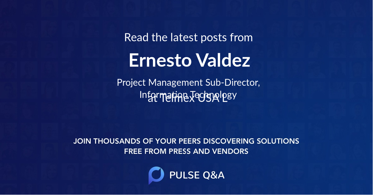 Ernesto Valdez