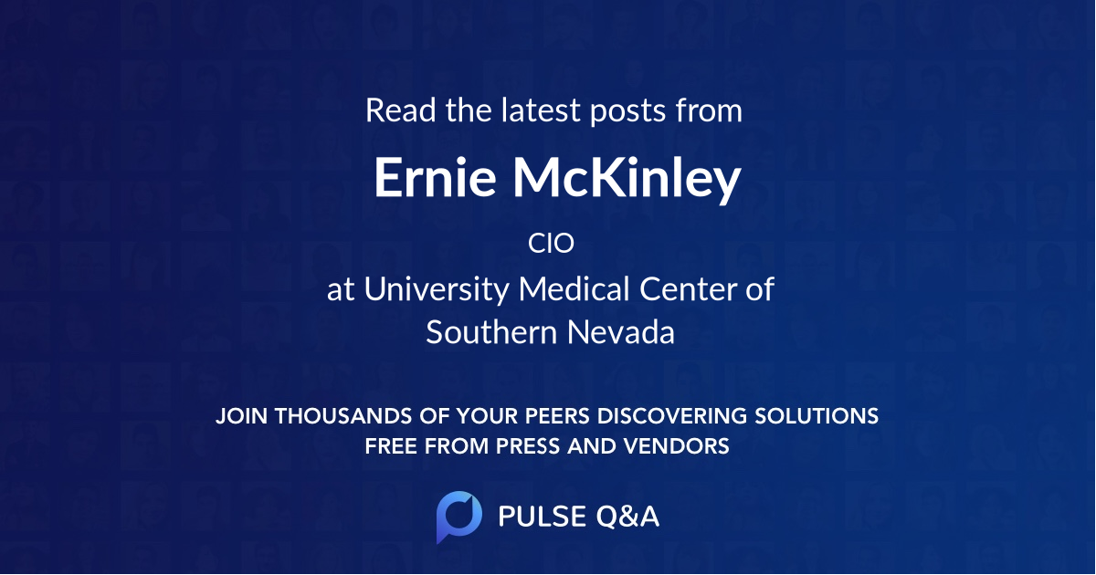 Ernie McKinley