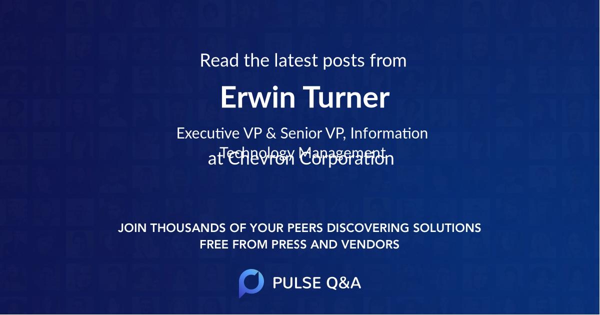 Erwin Turner