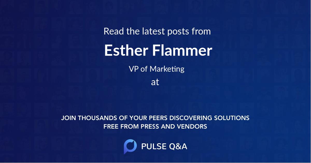 Esther Flammer