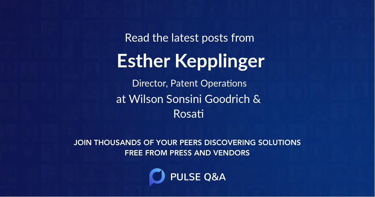 Esther Kepplinger
