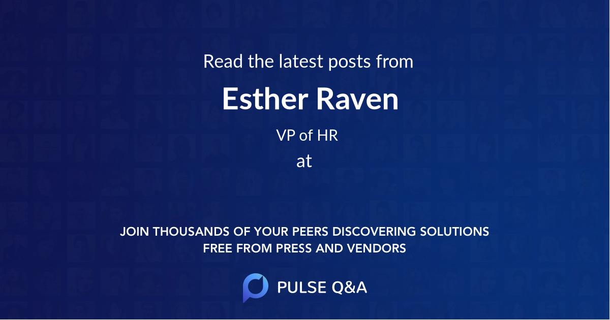 Esther Raven