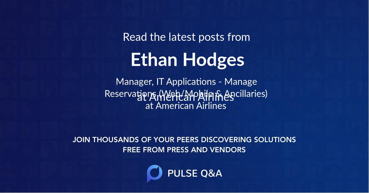 Ethan Hodges