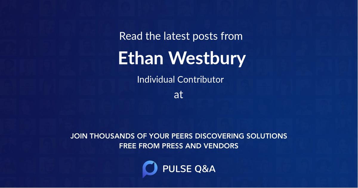 Ethan Westbury