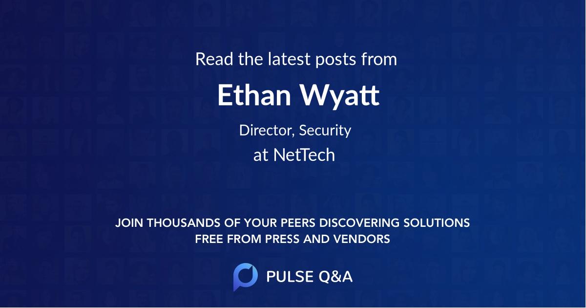 Ethan Wyatt