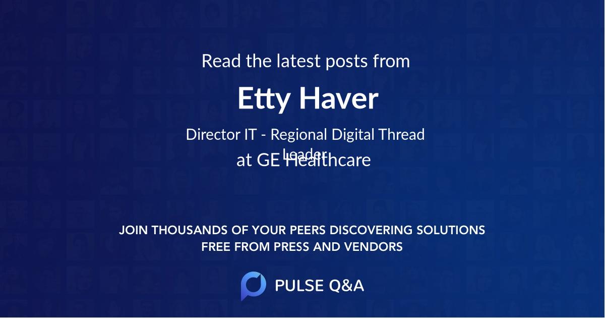 Etty Haver