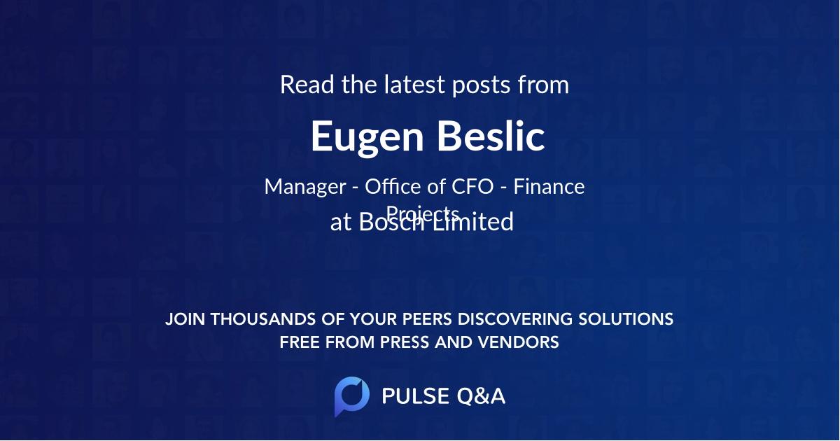 Eugen Beslic