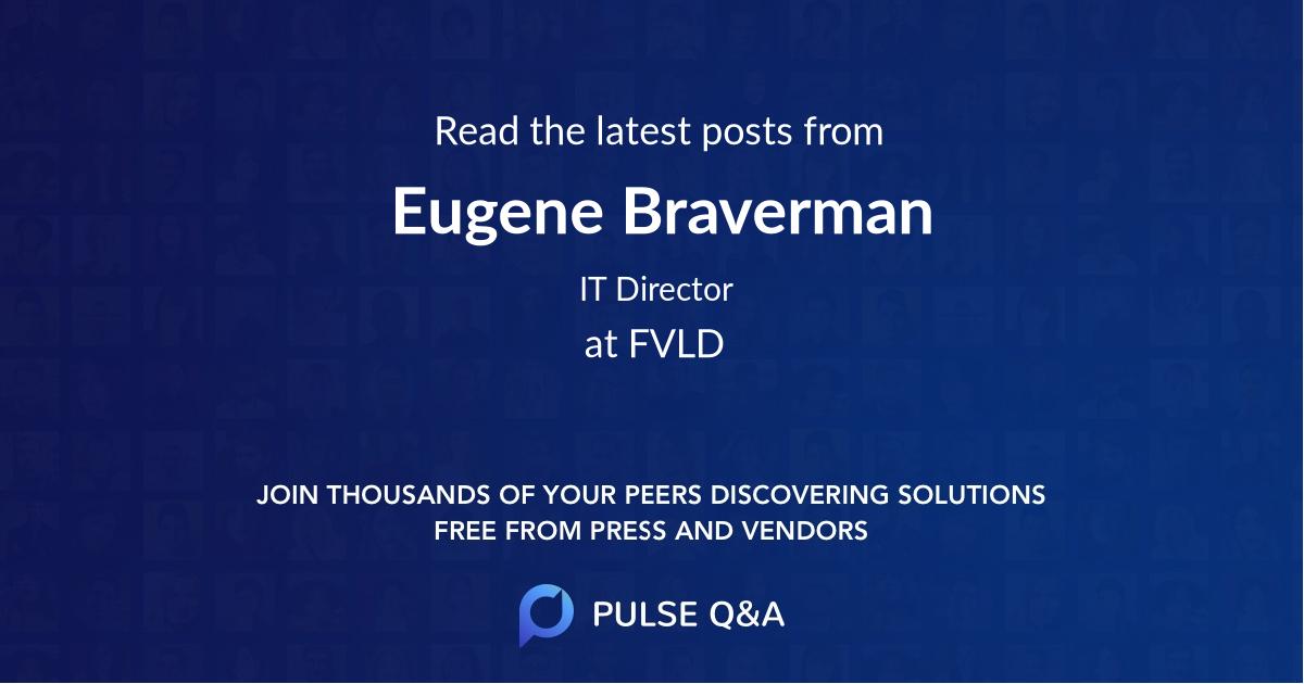 Eugene Braverman