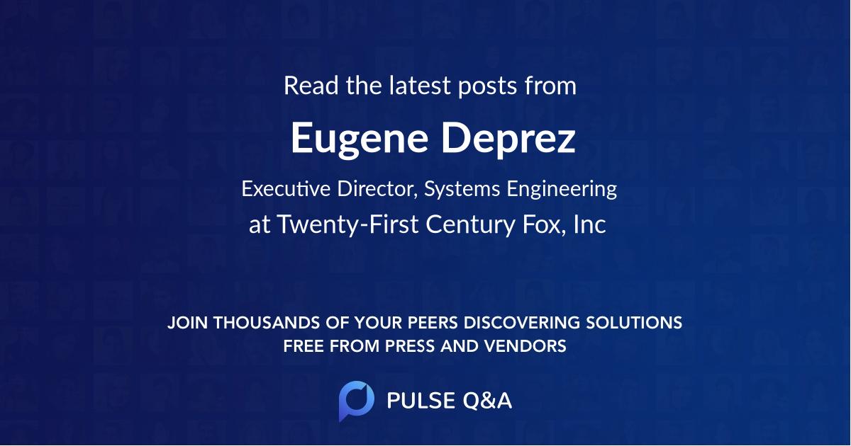 Eugene Deprez
