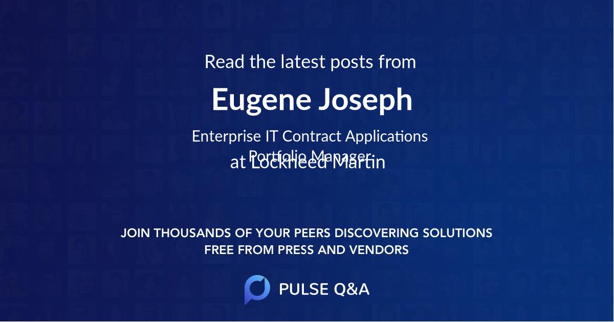 Eugene Joseph
