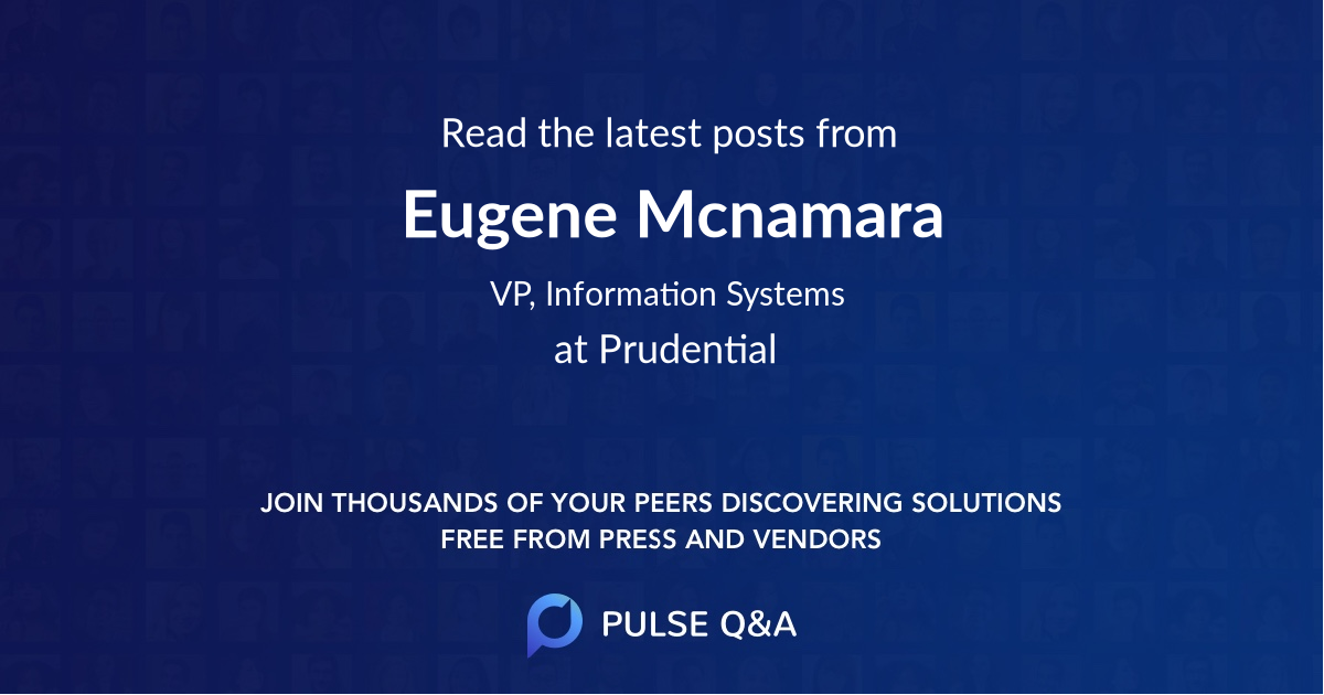 Eugene Mcnamara