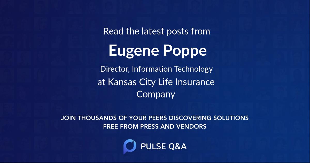 Eugene Poppe
