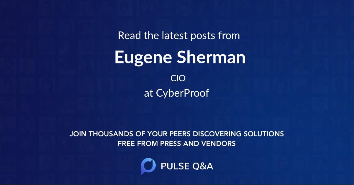 Eugene Sherman