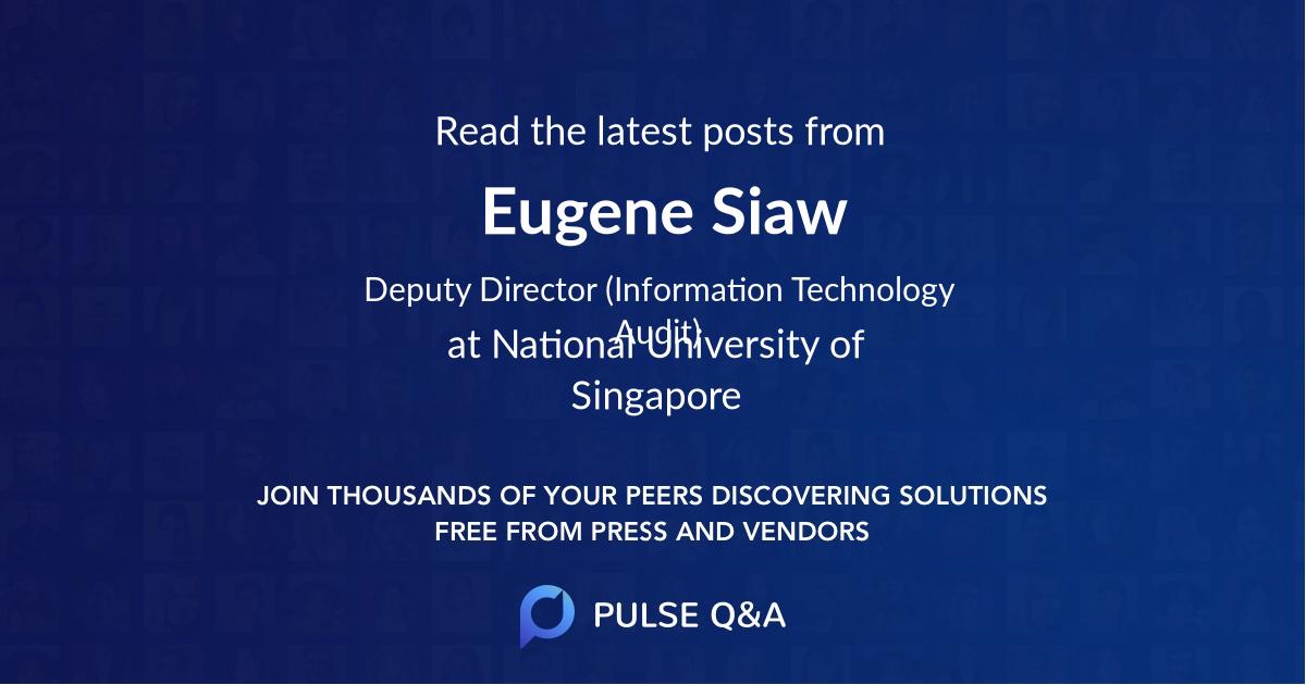 Eugene Siaw