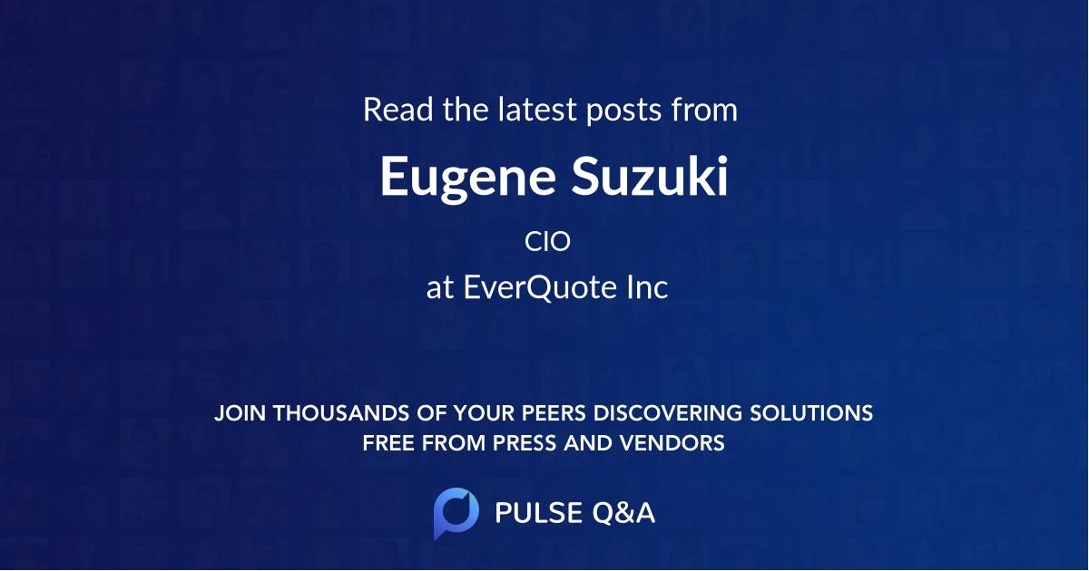 Eugene Suzuki