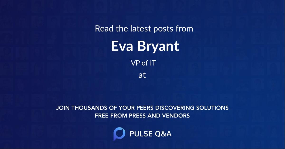 Eva Bryant