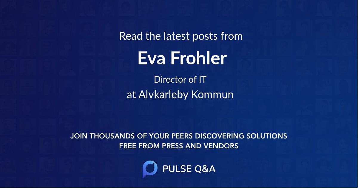 Eva Frohler