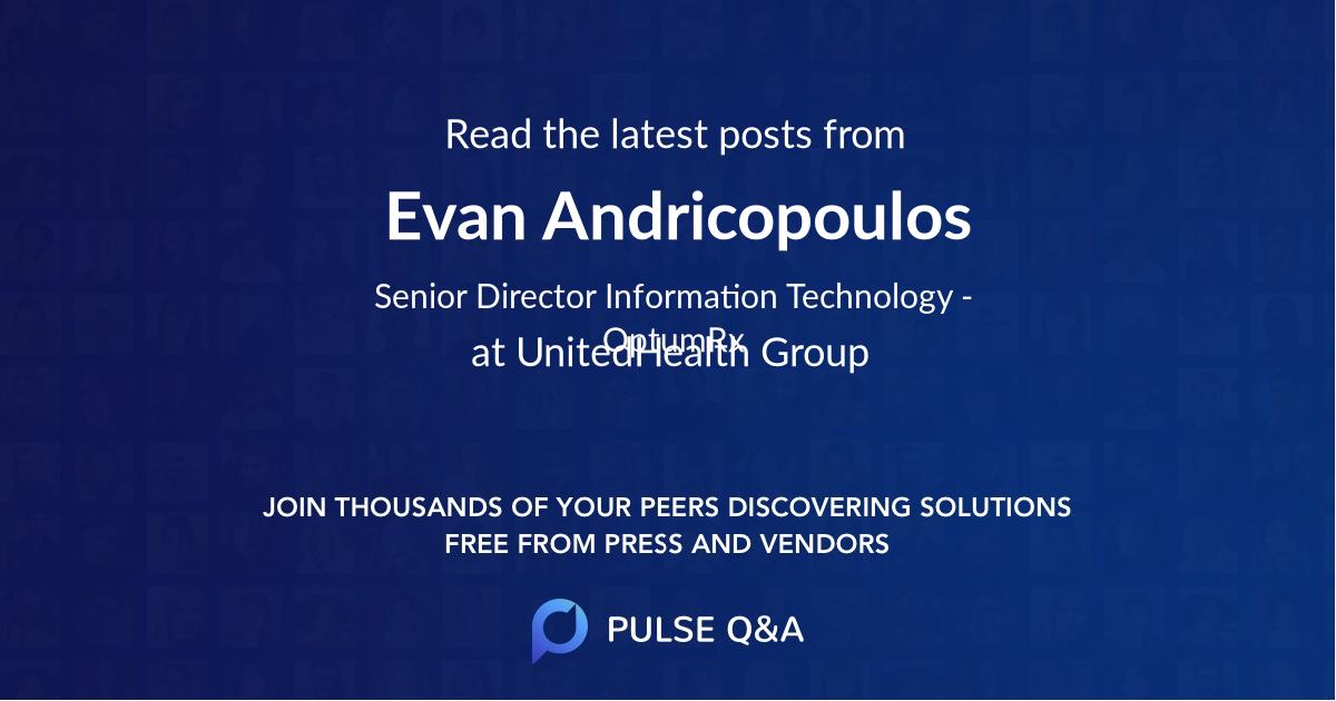 Evan Andricopoulos