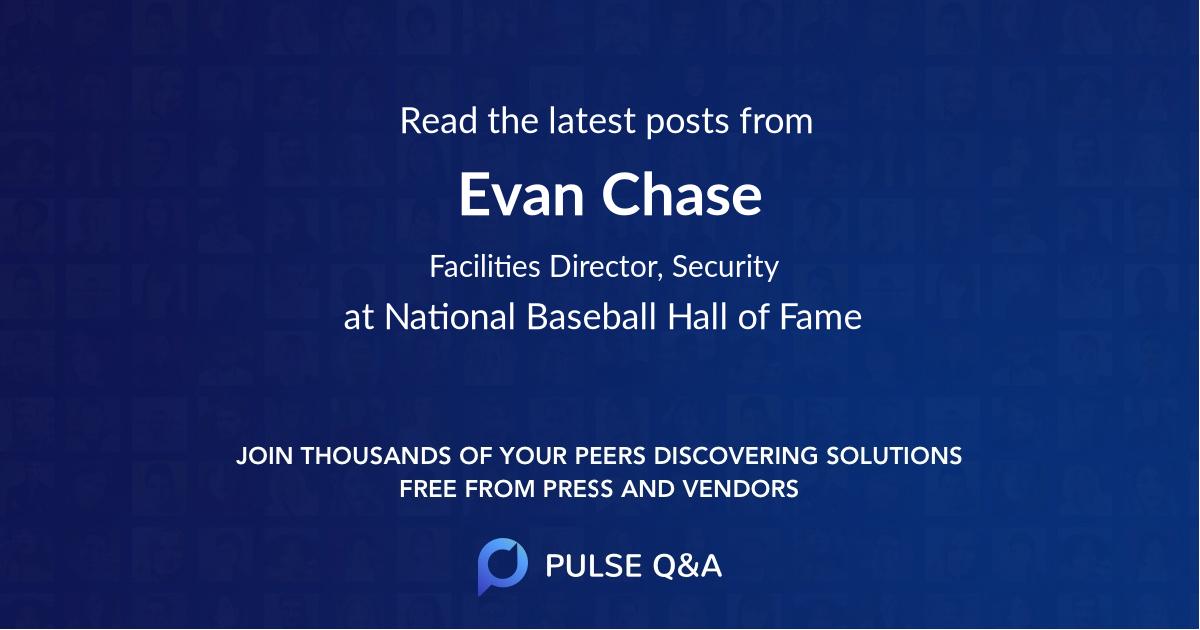 Evan Chase