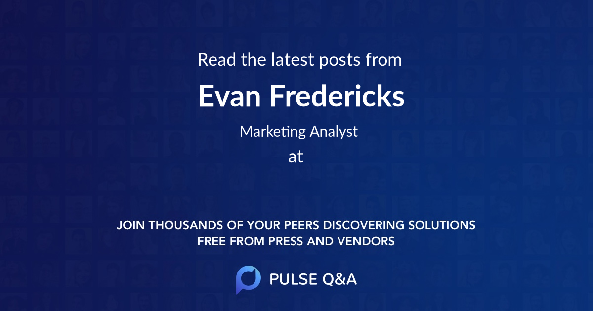 Evan Fredericks