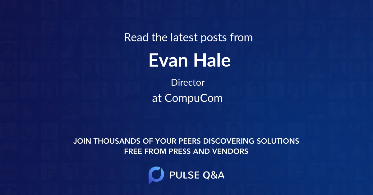 Evan Hale