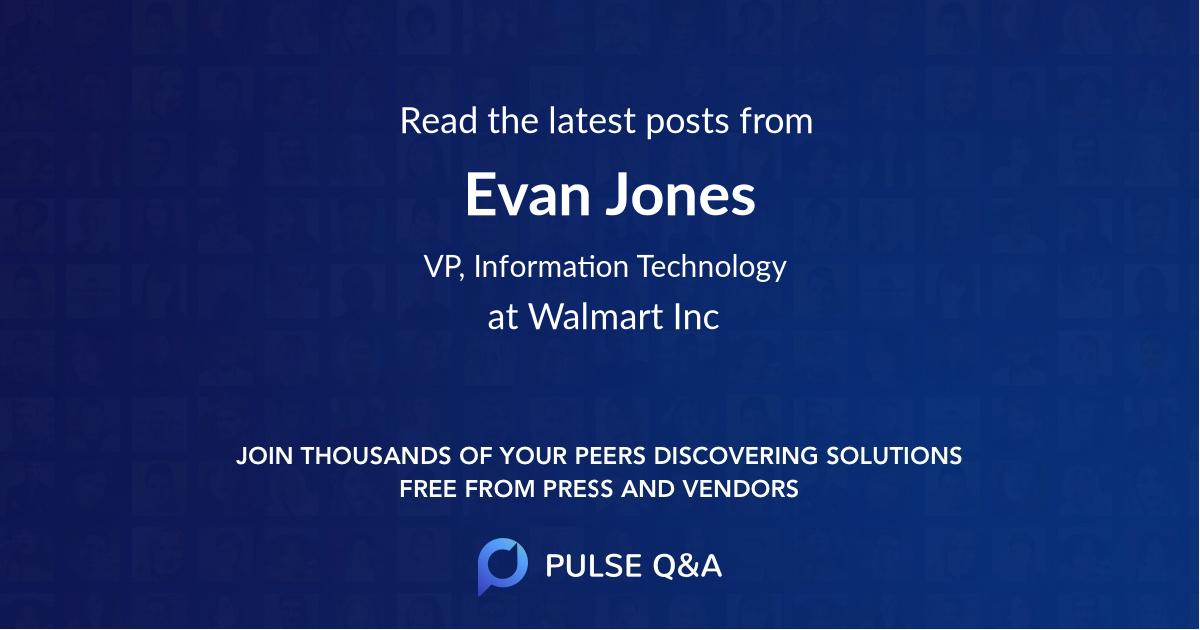 Evan Jones