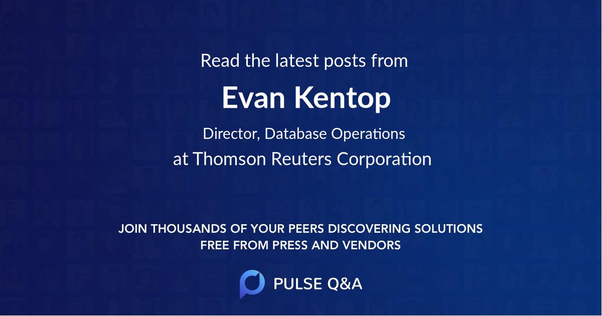 Evan Kentop
