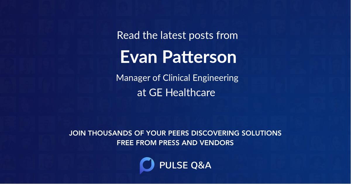 Evan Patterson