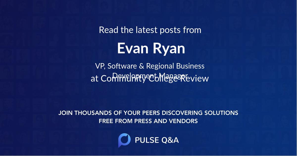 Evan Ryan